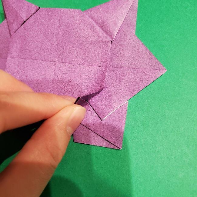ゲンガーの折り紙 作り方折り方 (44)