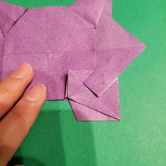 ゲンガーの折り紙 作り方折り方 (45)