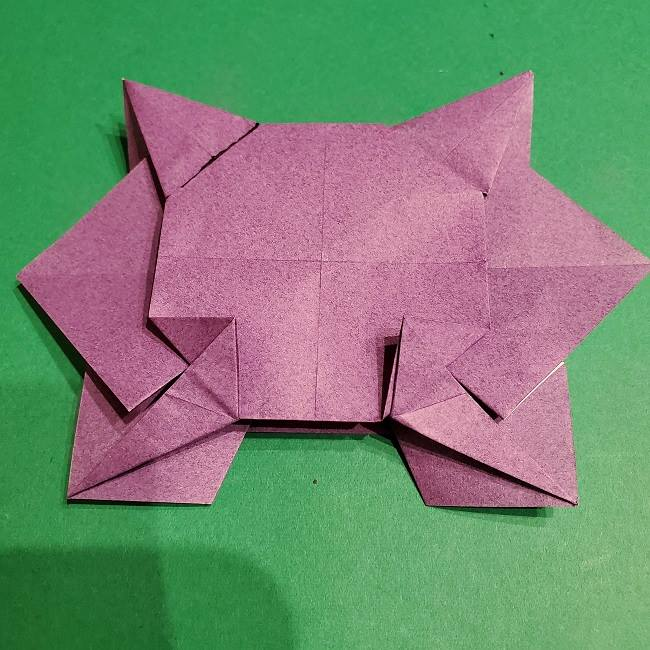 ゲンガーの折り紙 作り方折り方 (46)