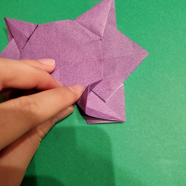 ゲンガーの折り紙 作り方折り方 (47)