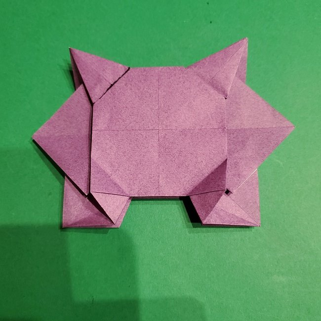 ゲンガーの折り紙 作り方折り方 (48)