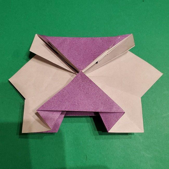 ゲンガーの折り紙 作り方折り方 (49)