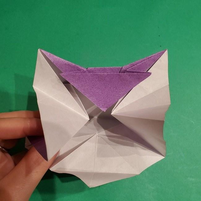 ゲンガーの折り紙 作り方折り方 (50)