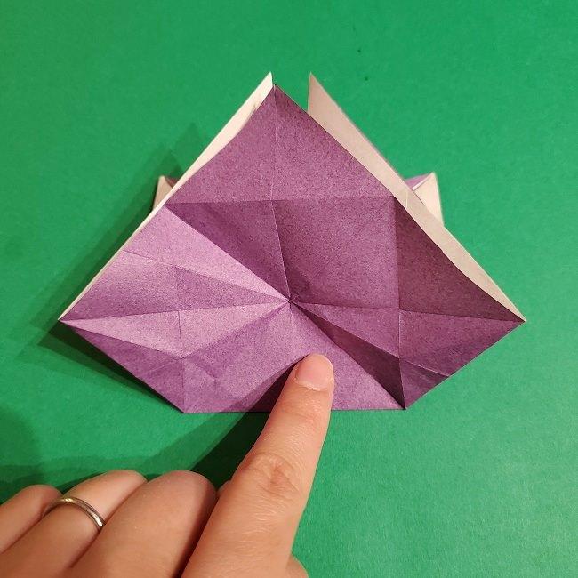 ゲンガーの折り紙 作り方折り方 (51)