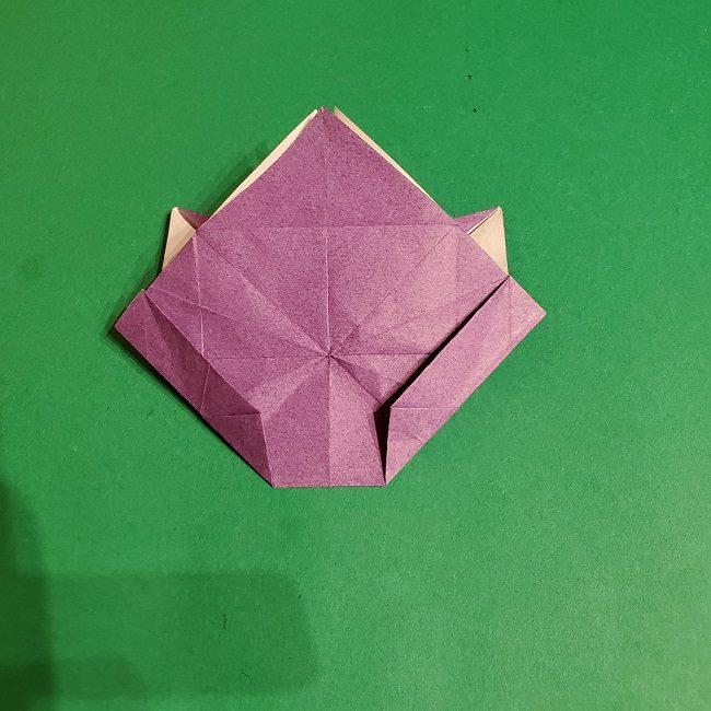 ゲンガーの折り紙 作り方折り方 (52)