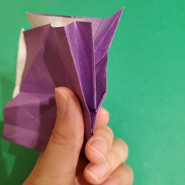 ゲンガーの折り紙 作り方折り方 (55)
