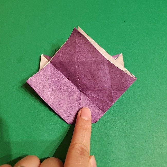 ゲンガーの折り紙 作り方折り方 (56)