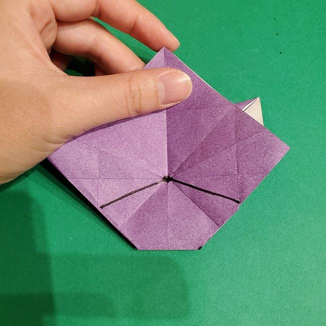 ゲンガーの折り紙 作り方折り方 (57)