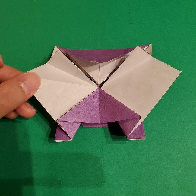 ゲンガーの折り紙 作り方折り方 (59)