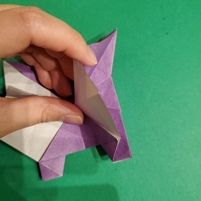 ゲンガーの折り紙 作り方折り方 (60)