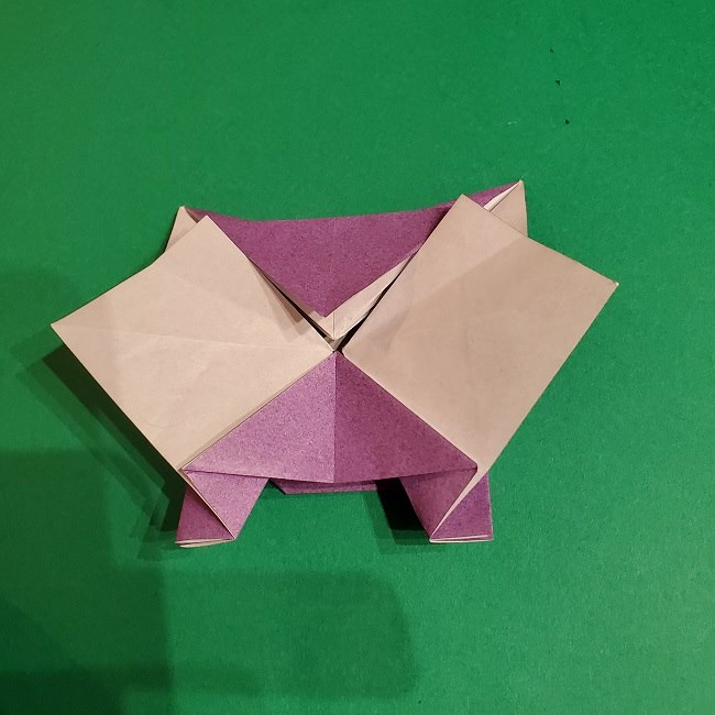 ゲンガーの折り紙 作り方折り方 (62)