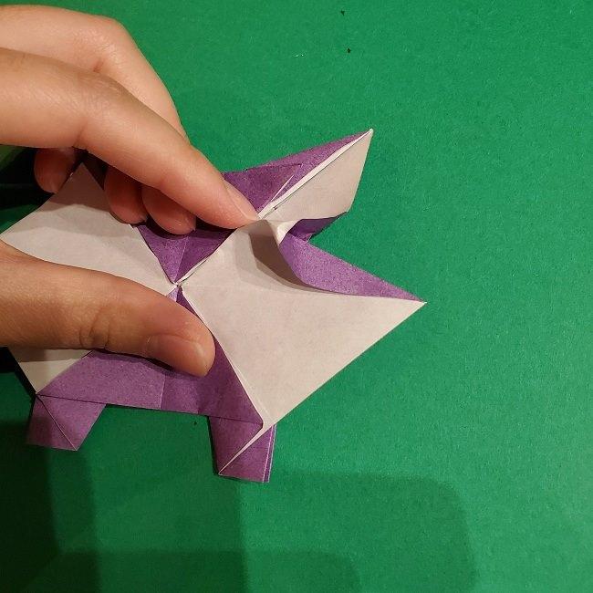 ゲンガーの折り紙 作り方折り方 (63)