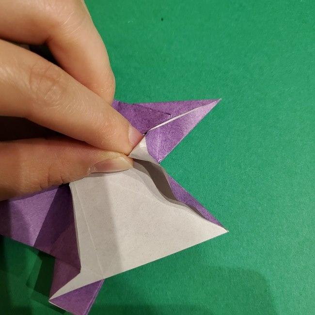ゲンガーの折り紙 作り方折り方 (64)
