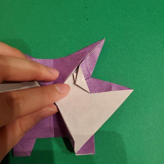 ゲンガーの折り紙 作り方折り方 (65)