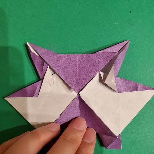 ゲンガーの折り紙 作り方折り方 (66)