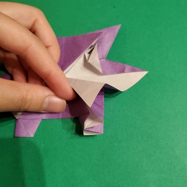 ゲンガーの折り紙 作り方折り方 (67)