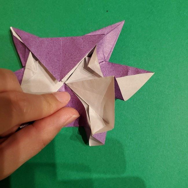 ゲンガーの折り紙 作り方折り方 (68)
