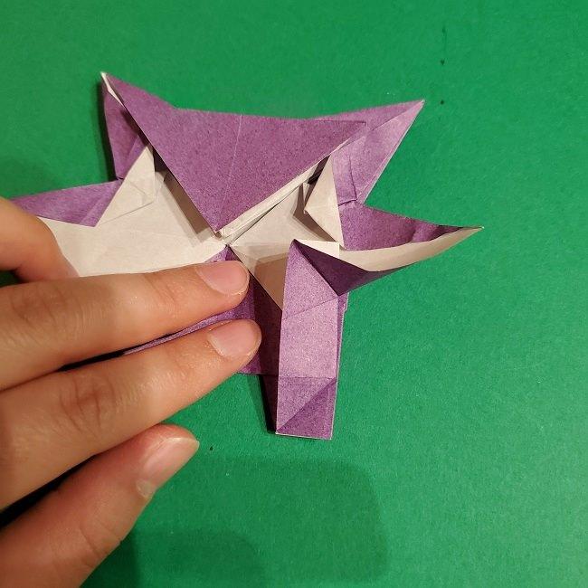 ゲンガーの折り紙 作り方折り方 (69)