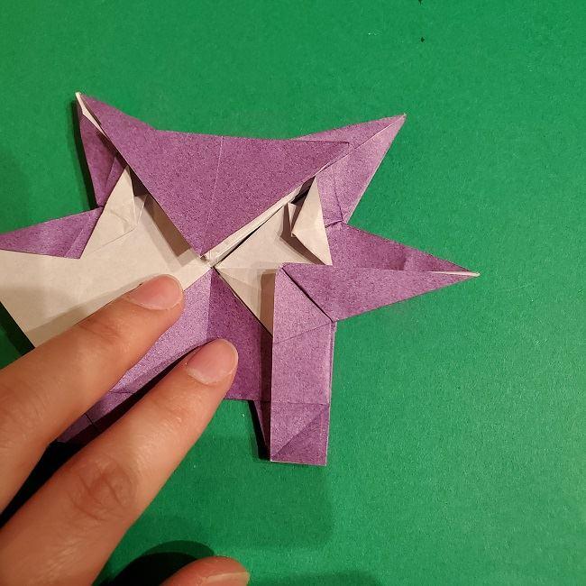 ゲンガーの折り紙 作り方折り方 (70)