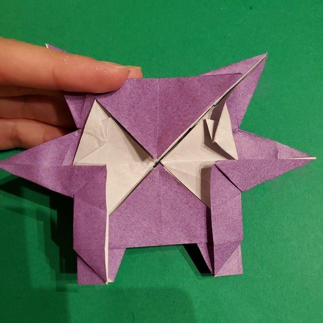 ゲンガーの折り紙 作り方折り方 (71)