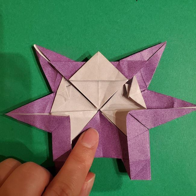 ゲンガーの折り紙 作り方折り方 (72)
