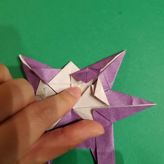 ゲンガーの折り紙 作り方折り方 (74)