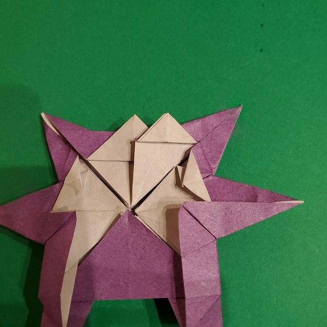 ゲンガーの折り紙 作り方折り方 (75)