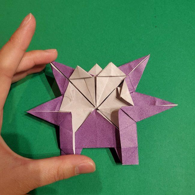 ゲンガーの折り紙 作り方折り方 (76)