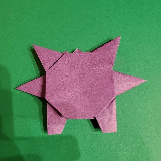 ゲンガーの折り紙 作り方折り方 (77)