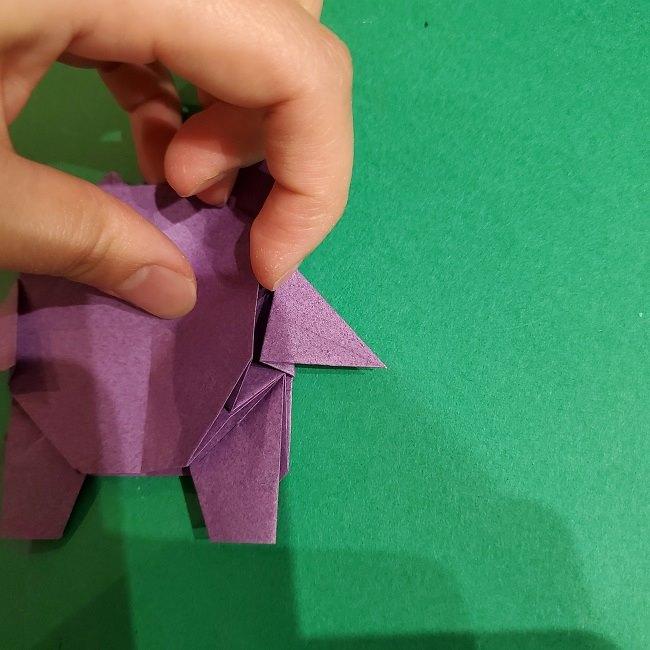 ゲンガーの折り紙 作り方折り方 (80)