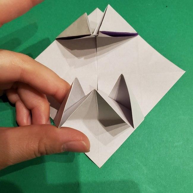ゲンガーの折り紙 作り方折り方 (9)