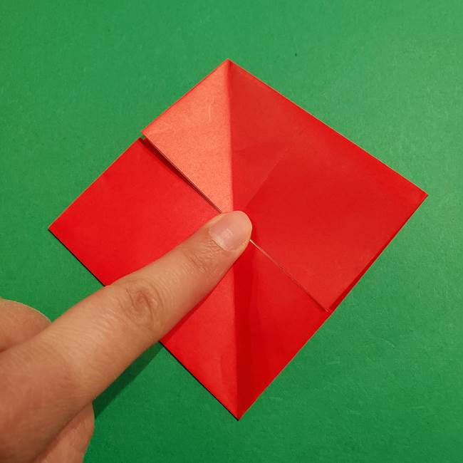 コイキングの折り紙は簡単!実際の折り方作り方(11)