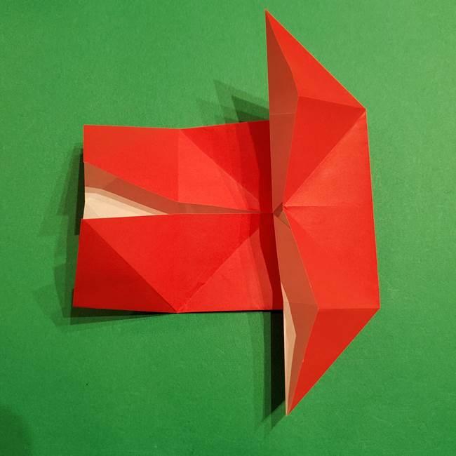 コイキングの折り紙は簡単!実際の折り方作り方(16)
