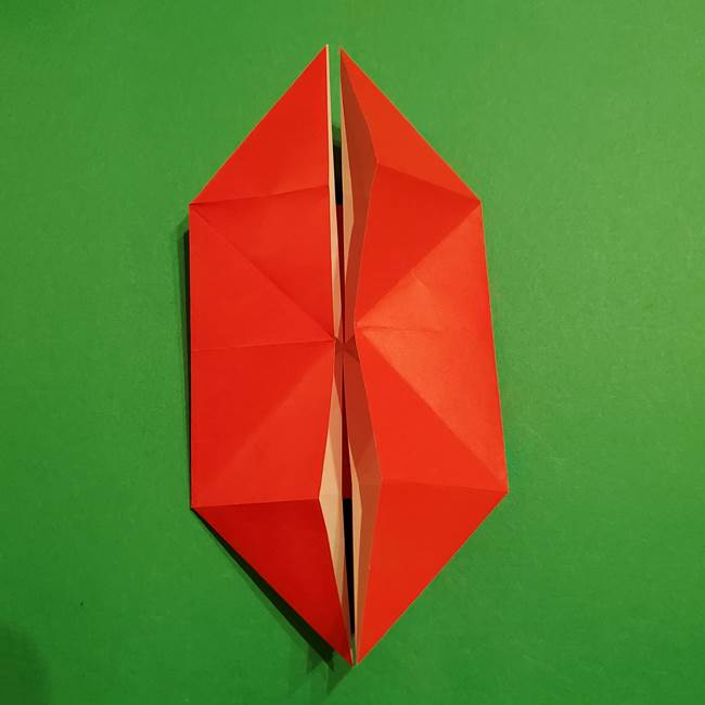 コイキングの折り紙は簡単!実際の折り方作り方(17)