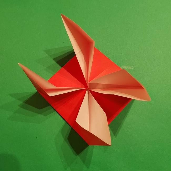 コイキングの折り紙は簡単!実際の折り方作り方(18)