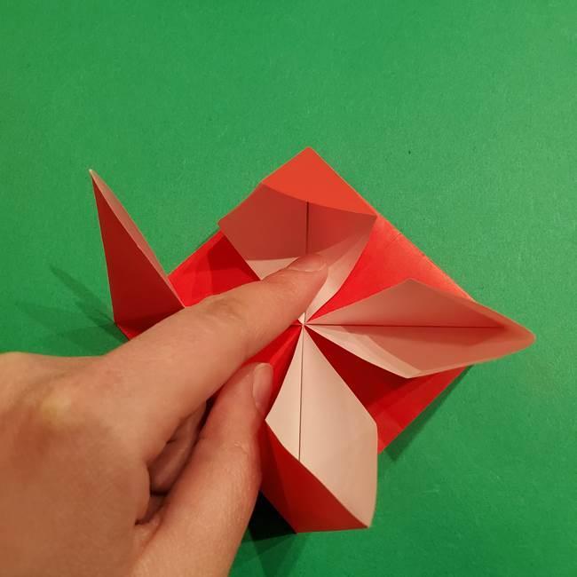 コイキングの折り紙は簡単!実際の折り方作り方(19)