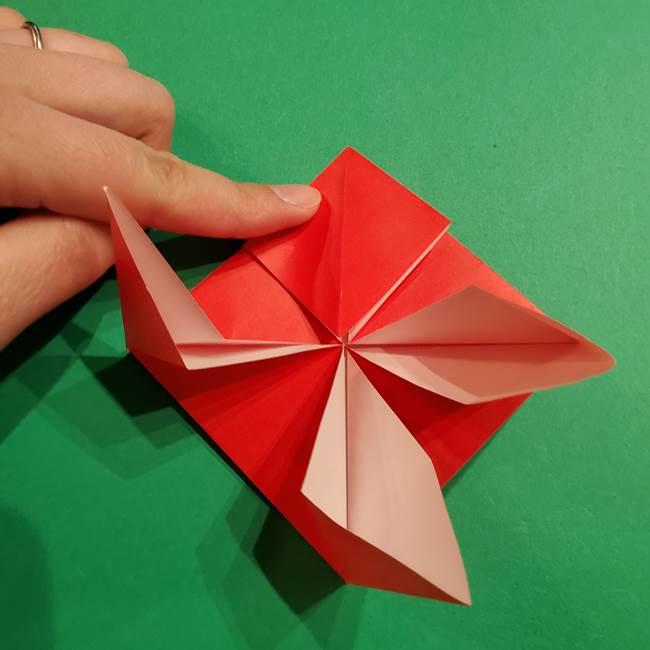 コイキングの折り紙は簡単!実際の折り方作り方(20)