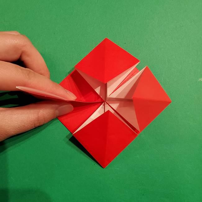 コイキングの折り紙は簡単!実際の折り方作り方(21)