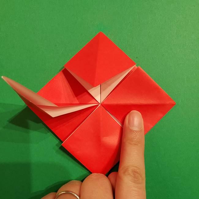 コイキングの折り紙は簡単!実際の折り方作り方(22)