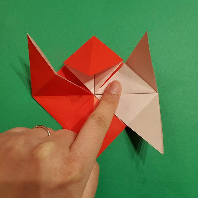 コイキングの折り紙は簡単!実際の折り方作り方(23)