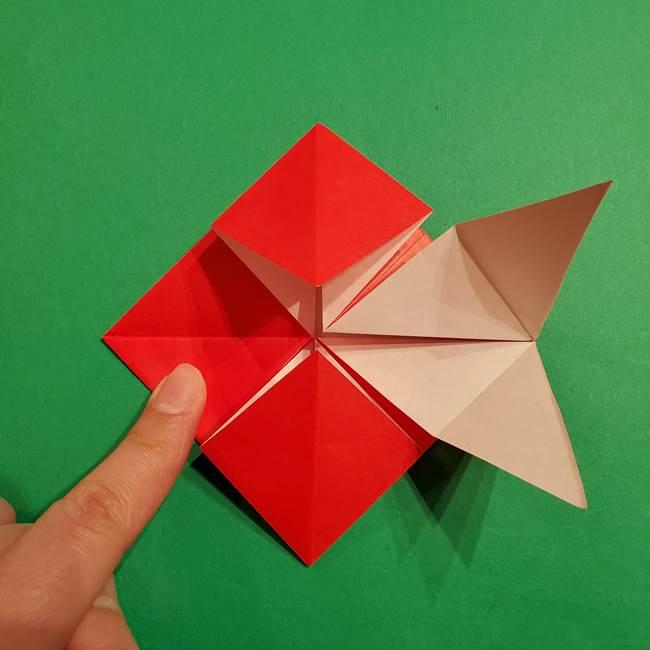 コイキングの折り紙は簡単!実際の折り方作り方(25)