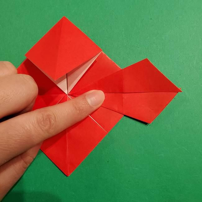 コイキングの折り紙は簡単!実際の折り方作り方(26)