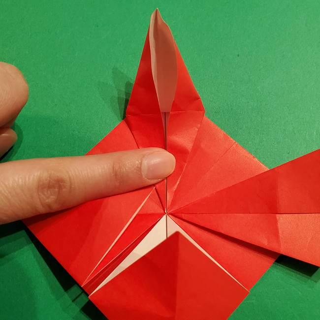 コイキングの折り紙は簡単!実際の折り方作り方(28)