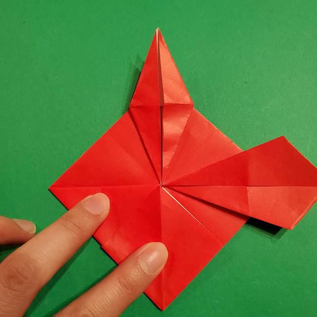 コイキングの折り紙は簡単!実際の折り方作り方(29)