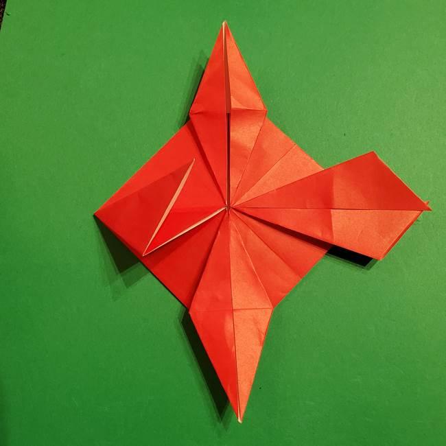 コイキングの折り紙は簡単!実際の折り方作り方(30)