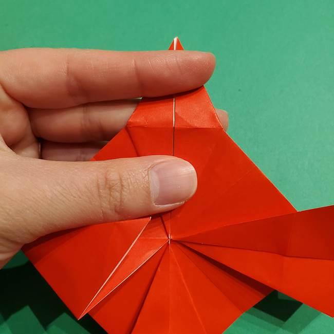 コイキングの折り紙は簡単!実際の折り方作り方(31)