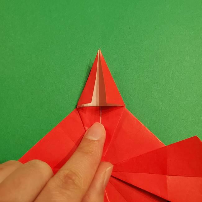 コイキングの折り紙は簡単!実際の折り方作り方(32)