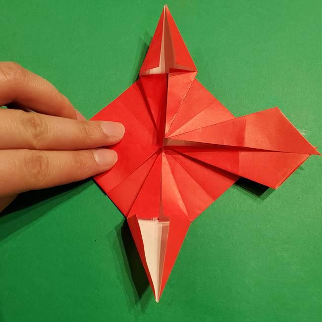 コイキングの折り紙は簡単!実際の折り方作り方(33)