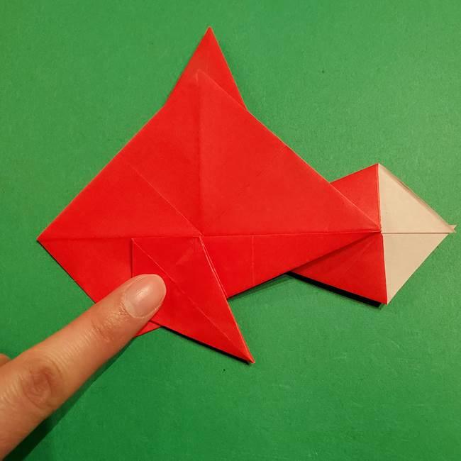 コイキングの折り紙は簡単!実際の折り方作り方(35)