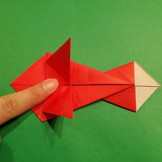 コイキングの折り紙は簡単!実際の折り方作り方(36)